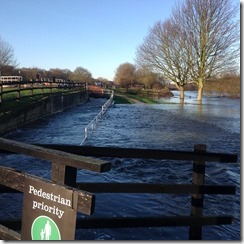 Woodlesford floods