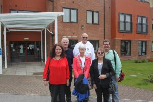 Cllr Karen Bruce and the Rothwell extra care group visiting other extra care schemes like Yew Tree Court