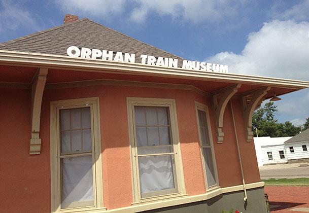Orphan Train museum