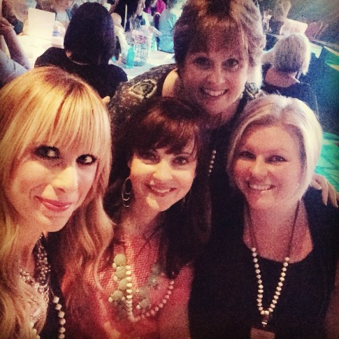 Hanging with far away friends for an up close weekend: Summer Saldana, Ruth Schwenk & Mandy Young