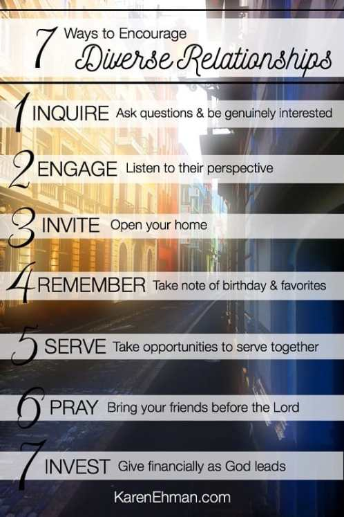 7 Ways to Reach Out to Others and Embrace Diversity from karenehman.com