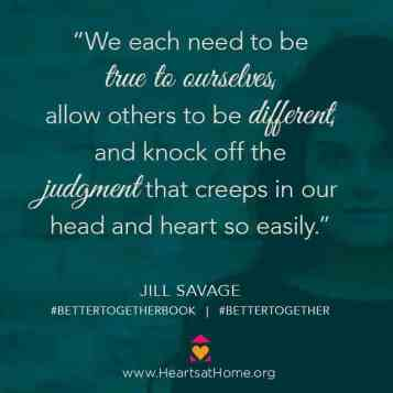 Better Together with Jill Savage at KarenEhman.com