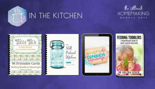 Recipes in the Ultimate Homemaking Bundle - check it out at karenehman.com.