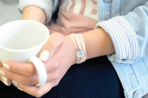 Listen Love Repeat bracelet and wall hanging giveaway at karenehman.com.