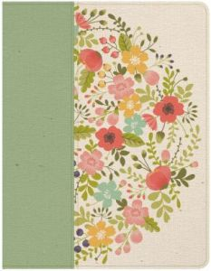 CSB Notetaking Bible, Sage Cloth Over Board; 12 Fabulous Gifts for Friends at karenehman.com.