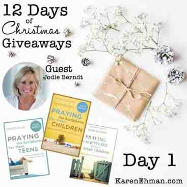 12 Days of Christmas Giveaways – Day One