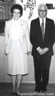 Maternal Grandparents Ernest & America Maxfield