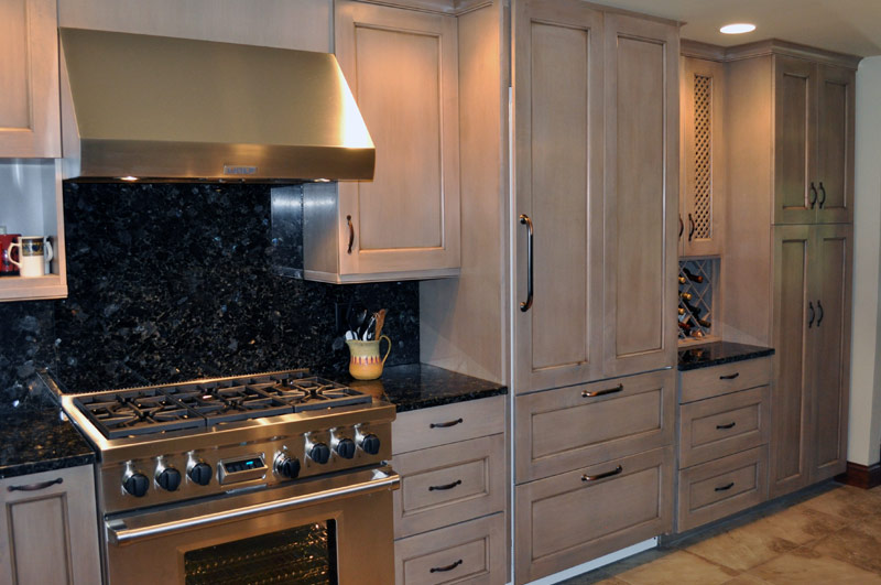 kitchen counters and backsplash cabints karen r. larson | projects residential beach house