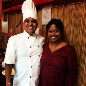 Chef Udaya and Chushani