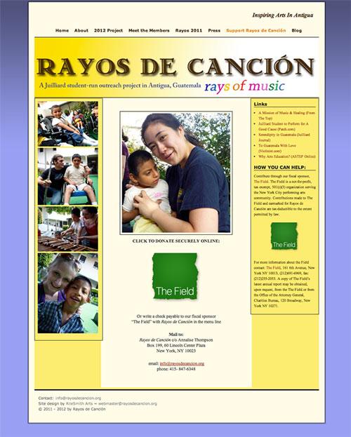 RayosDeCancion.org