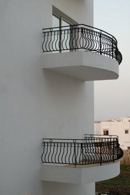 Contractor balcony