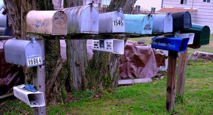 Warning: Hanging Advertising on Mailboxes is Illegal!