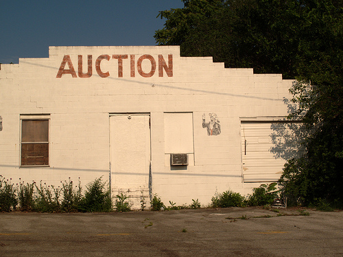 Selling your Property through Auction