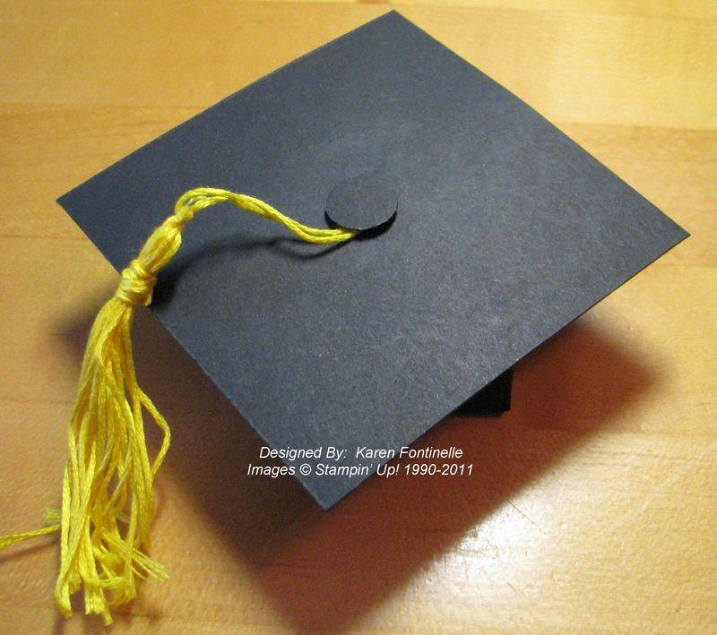 graduation cap box gift