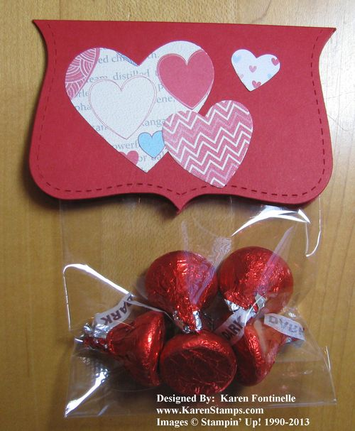 Last Minute Valentines Day Candy Treat Ideas Stamping