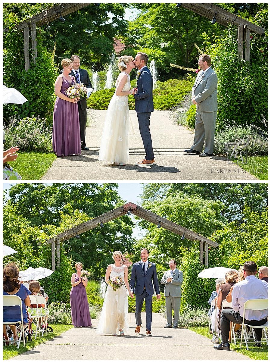 Luthe Botanical Gardens Wedding  Peoria Riverboat Reception