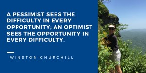 Quote, Winston Churchill, optimist, pesimist
