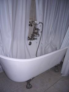 Stanley Hotel, Estes Park, Colorado, Room 217, Bear-Clawed Tub