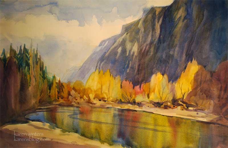 Fall Aspens Wallpaper Sierra Nevada Paintings High Sierra Paintings Sierra