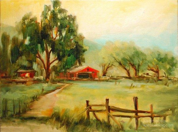 Sierra Nevada Paintings High