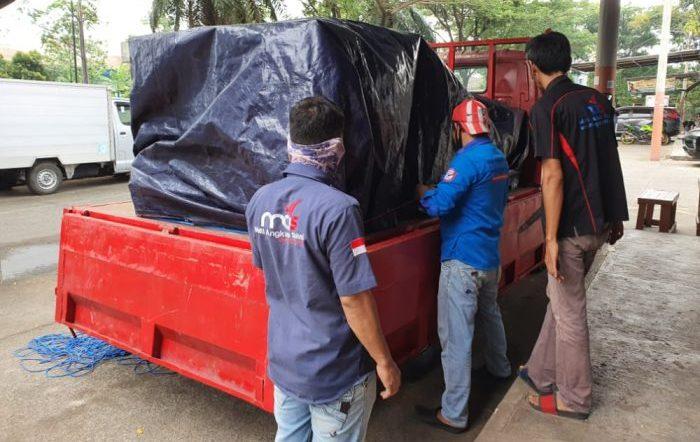 Jasa ekspedisi pengiriman barang kargo dari Surabaya ke Padang