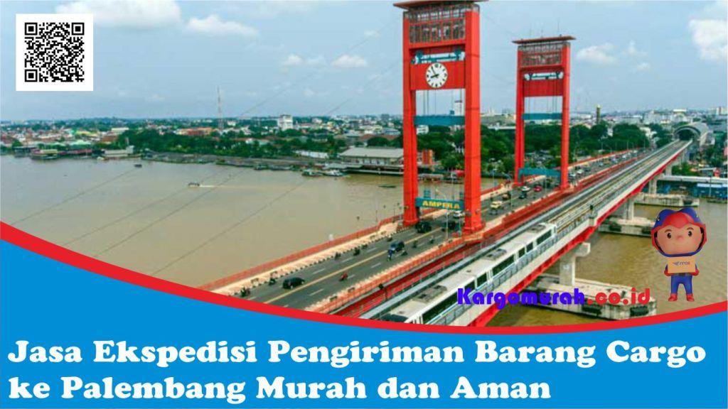 Jasa Ekspedisi Pengiriman Barang Cargo ke Palembang