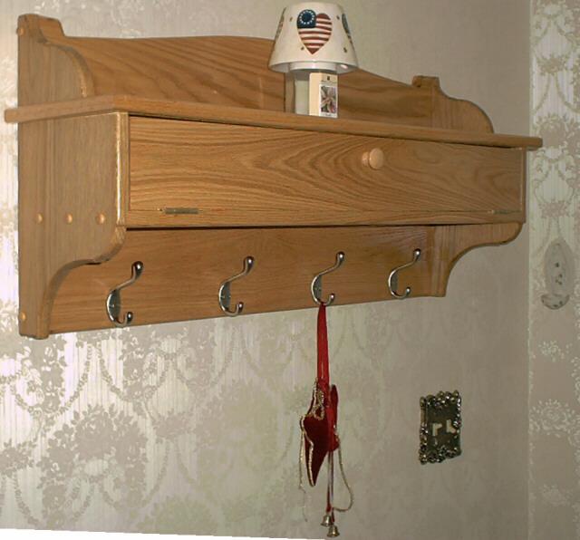 wooden coat rack plans