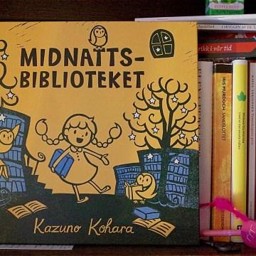 Barnebok: «Midnattsbiblioteket» av Kazuno Kohara