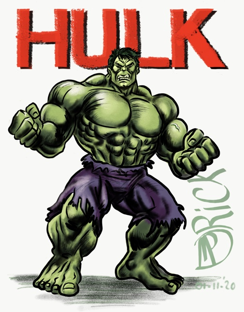 Comic book HULK