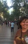 On las Ramblas in Barcelona, Spain. June 2016