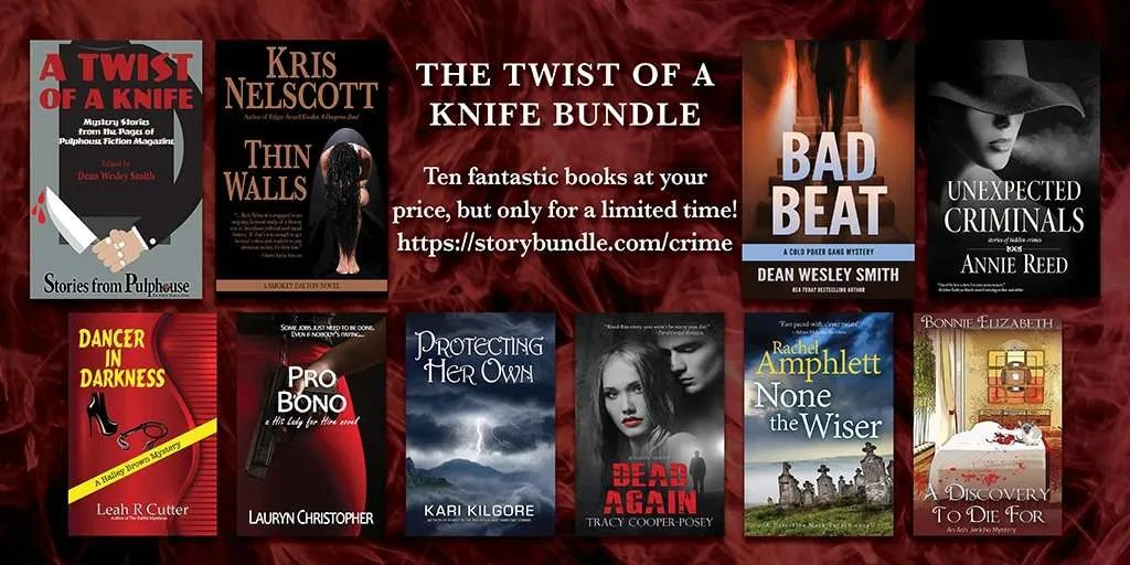 graphic for Twist of a Knife StoryBundle with all covers