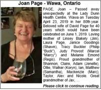Wawa Obituary