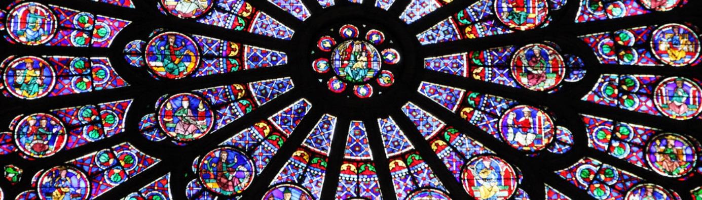 Image décorative : détail de l'une des rosaces de Notre-Dame de Paris.