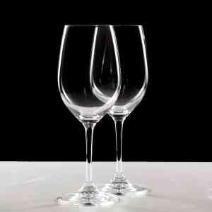 Photos en studio de verre à vin