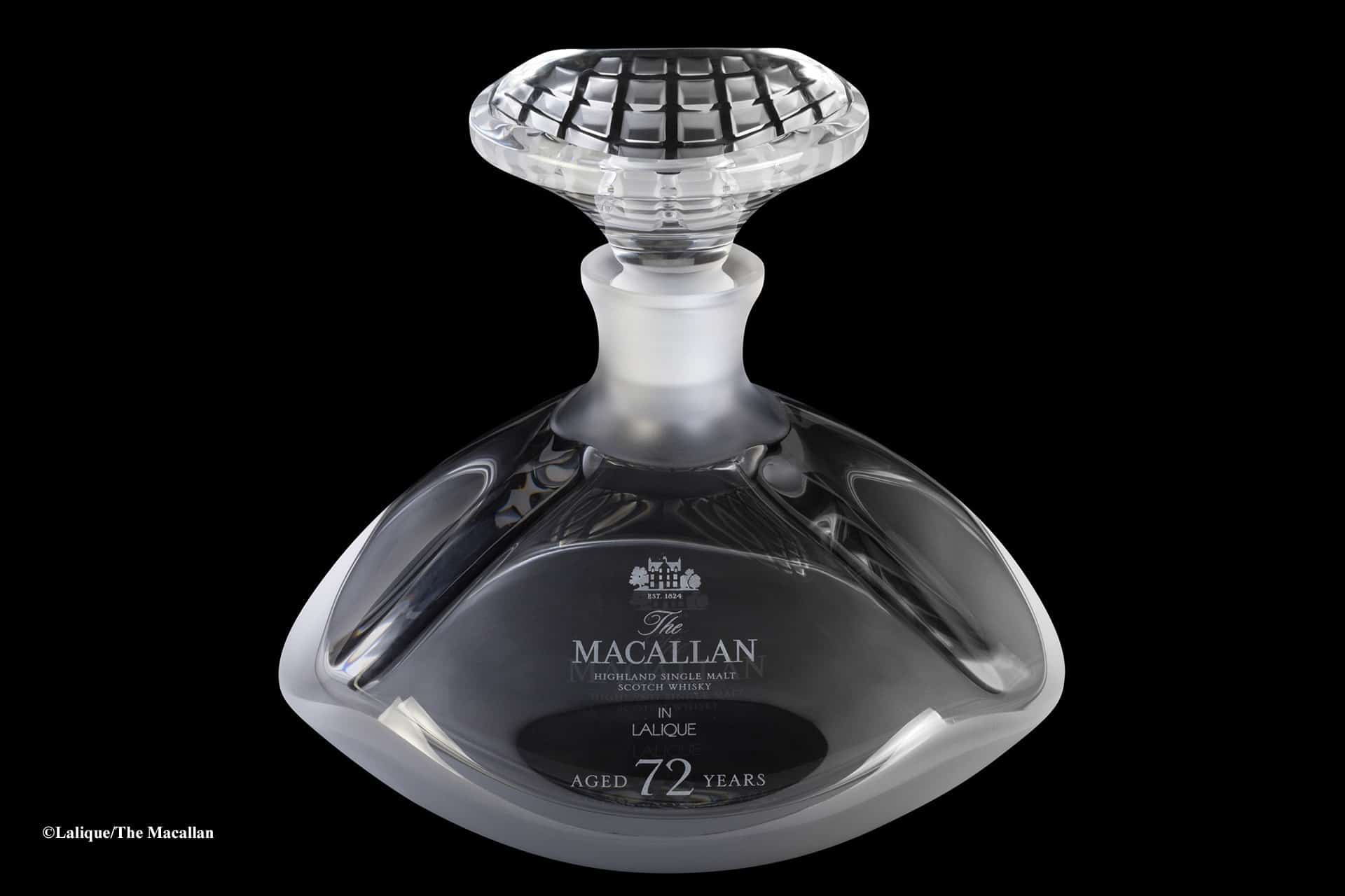 Carafe cristal Lalique