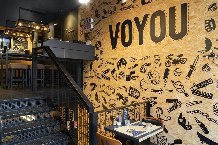 VOYOU BURGER salle de restaurant