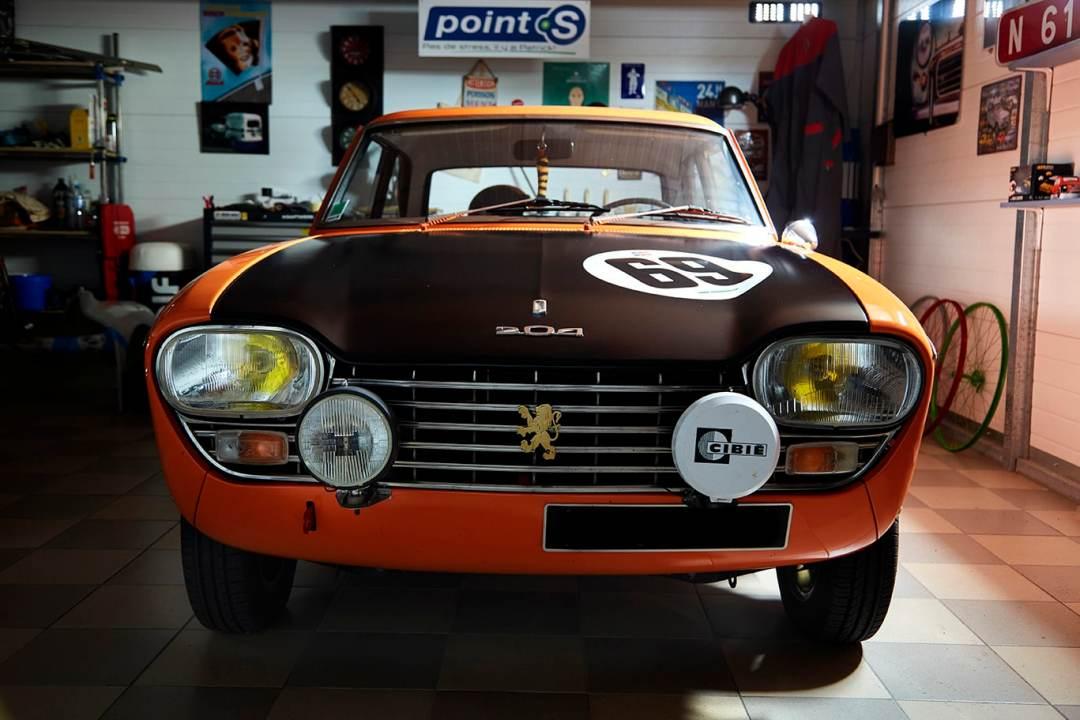 Voiture de collection Peugeot 204