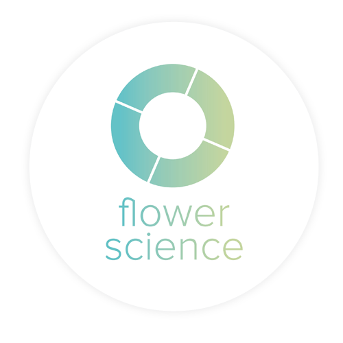 Heppener events en projecten, logo flower science, Sassenheim