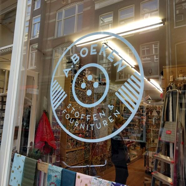 A. Boeken stoffenwinkel Amsterdam