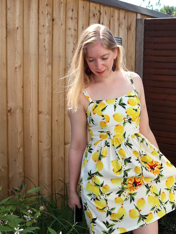 Katoenpoplin jurk