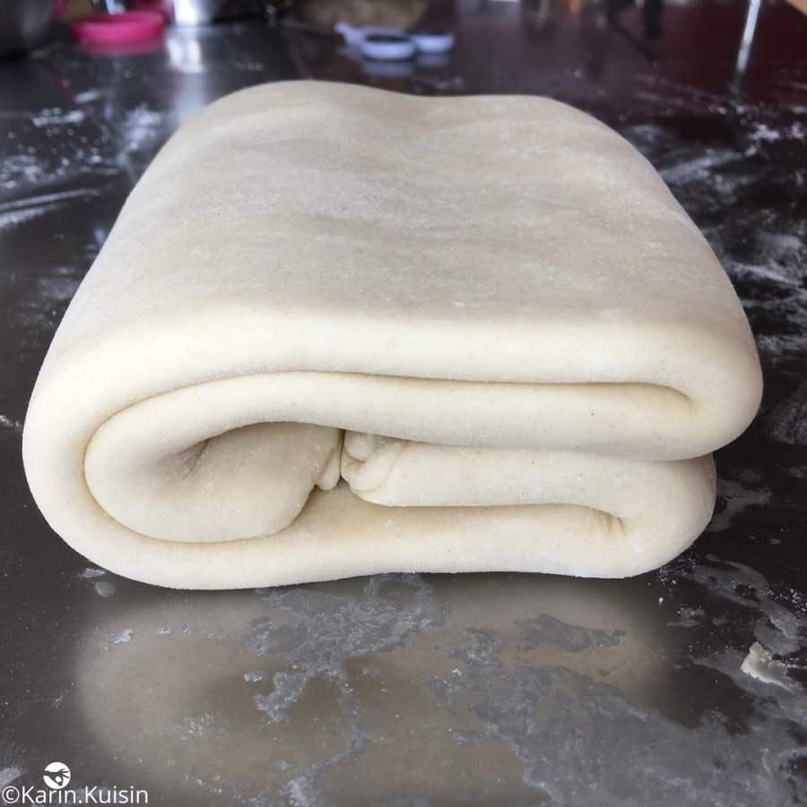 pâte feuilletée tour double