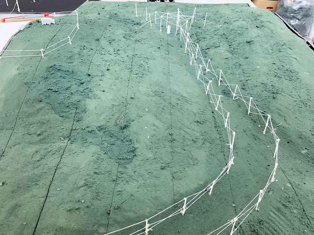 Human Fence, 2018-19, Skiteprojekt, Ikke Realiseret