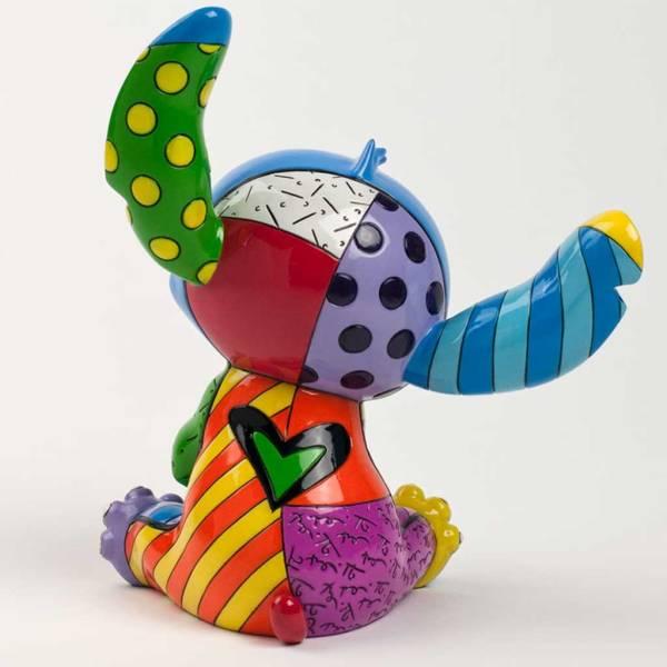 Disney' Stitch Pop Art Figurine Designed Romero Britto