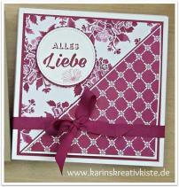 Pralinen-Verpackung mit Flower Pop-Up einzeln