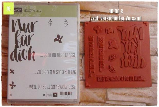 SAB Blumen für dich (10,00 Euro zzgl. Versand)