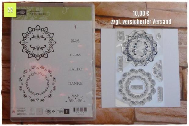 SAB Mein Medaillon (10,00 Euro zzgl. Versand)