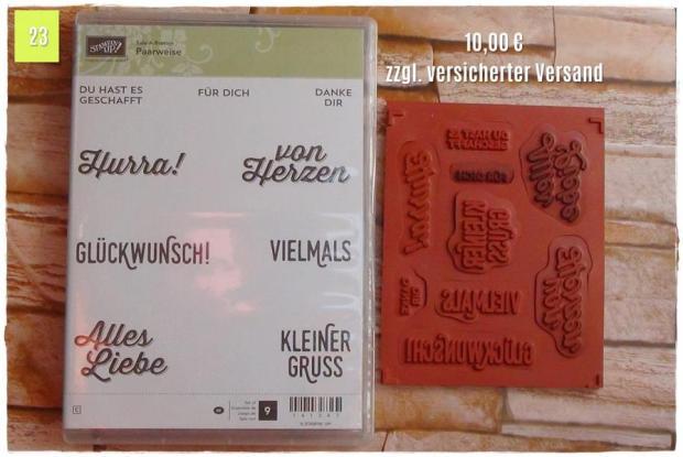 SAB Paarweise (10,00 Euro zzgl. Versand)