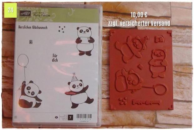 SAB Party-Pandas (10,00 Euro zzgl. Versand)