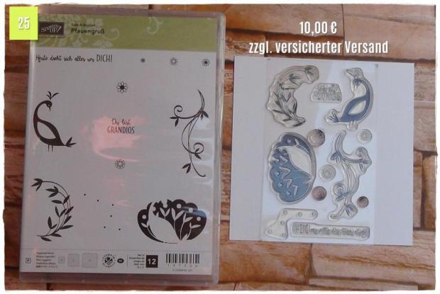 SAB Pfauengruß (10,00 Euro zzgl. Versand)