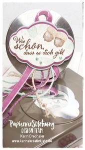 Süßigkeitenglas Karins Kreativkiste Stampin up